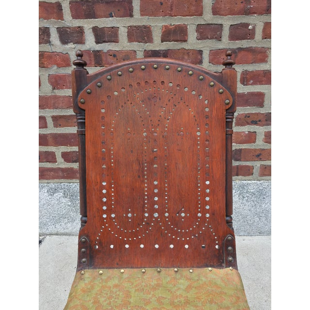*Last Chance* Antique Victorian Child's Rocking Chair For Sale - Image 4 of 13