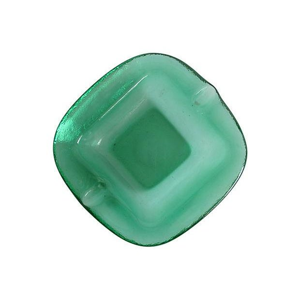 Blenko-Style Glass Catchall - Image 4 of 5