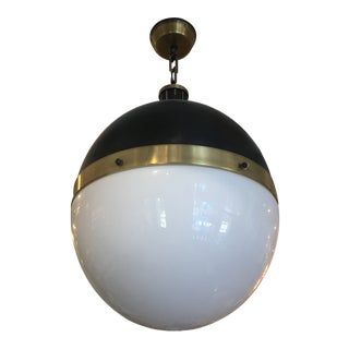 Extra Large Brass Pendant - Pair For Sale