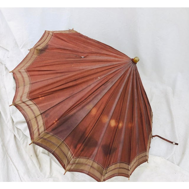 Abstract Antique Hercules Umbrella For Sale - Image 3 of 7