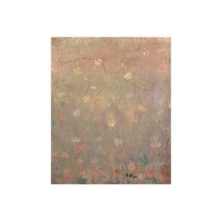 "Glenn Stuart Pearce American Impressionist ""Cherry Blossoms"" 1930 Painting For Sale"