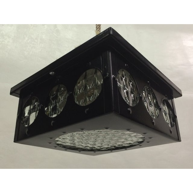 1960s Flush Mount Fixtures - A Pair - Image 5 of 5