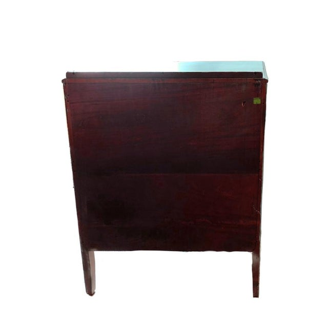 1900 Vintage Chinoiserie Meets French Country Painted Dresser For Sale - Image 4 of 5