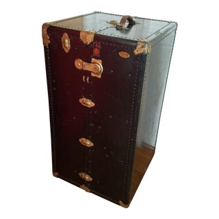 Antique Oshkosh Steamer Trunk For Sale