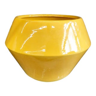 Vintage Yellow Planter by Redwing For Sale