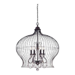Vintage Savoy House Birdcage Light Pendant