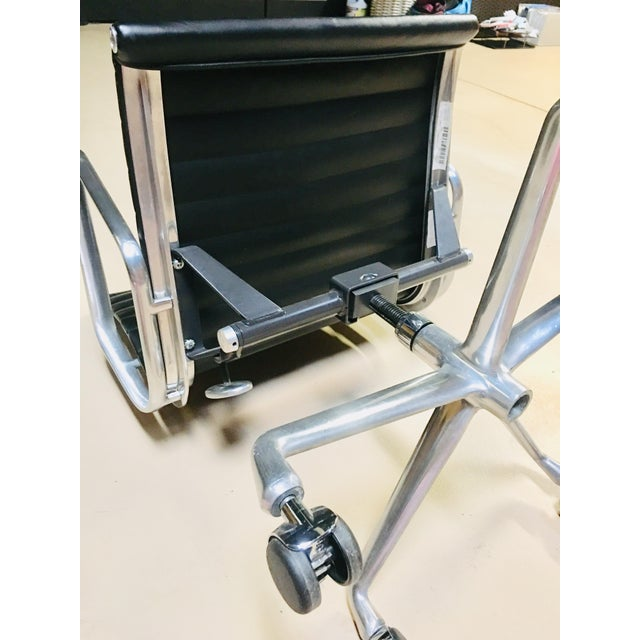 Metal Eames Management Aluminum Chair For Sale - Image 7 of 11