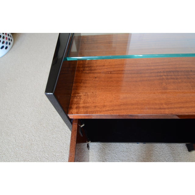 1990s 1990s Mid-Century Modern Henredon Night Stand For Sale - Image 5 of 6