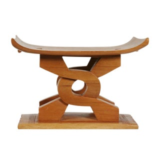 Ghanaian Ashanti 'Wisdom Knot' Stool For Sale