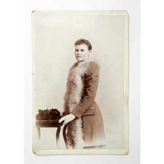 1880s Victorian Cabinet Card Portrait Photo Preview