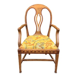 Charles Pollock William Switzer Biedermeier Chair For Sale