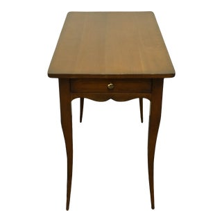 """Southampton Solid Cherry Country French Style 19x34"""" Accent End Table For Sale"""