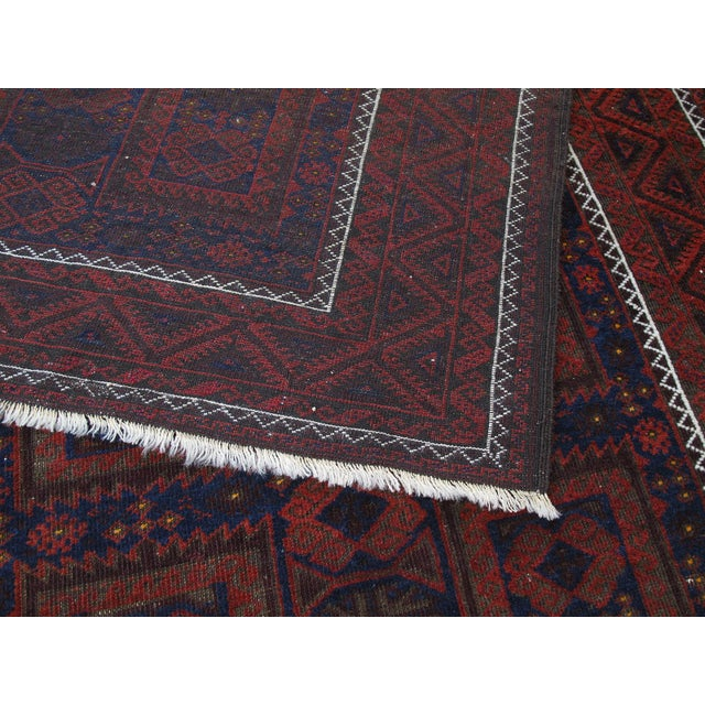 Antique Baluch Long Rug For Sale - Image 9 of 9