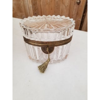 French Antique Crystal Box Preview