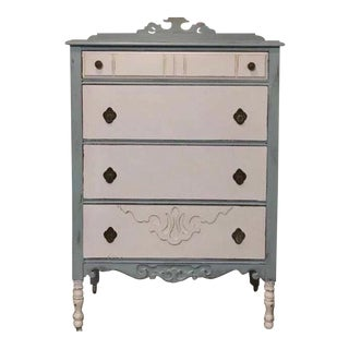 1930s Painted Vintage Dresser