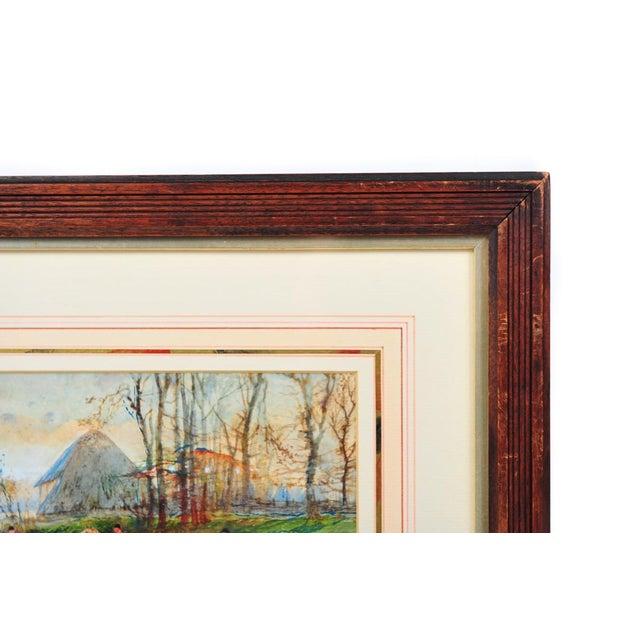 19th Century English Fox Hunt Oil Painting - Image 5 of 8