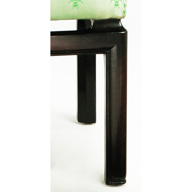Black Eight Baker Far East Collection Floating Dining Chairs For Sale - Image 8 of 9