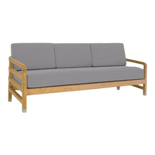"""Linley Large Sofa in Moonlit Orchid, 75"""" For Sale"""