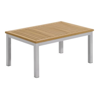 Outdoor Coffee Table, Natural For Sale