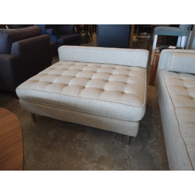 """Gus Spencer Loft Bi-Sectional in """"Leaside Driftwood"""" Colorway For Sale In Los Angeles - Image 6 of 8"""