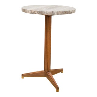 Edward Wormley for Dunbar Marble Side Table For Sale
