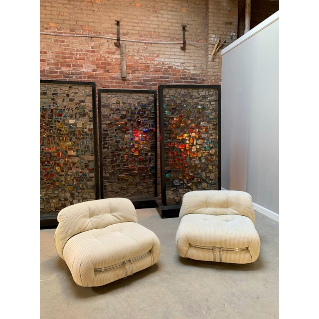 Afra & Tobia Scarpa Soriana Lounge Chair for Cassina Italy 1970s - One Remaining For Sale In Cleveland - Image 6 of 13