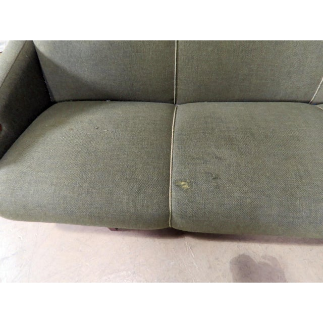 Textile Mid-Century Modern Danish Sofa For Sale - Image 7 of 8