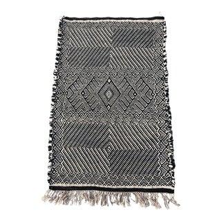 Geometric Moroccan Throw Rug For Sale