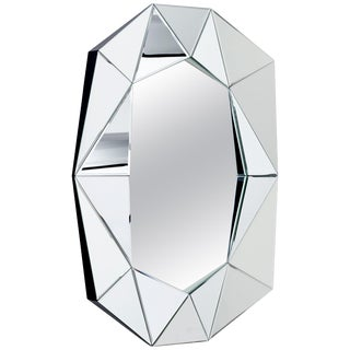Diamond Decorative Mirror For Sale