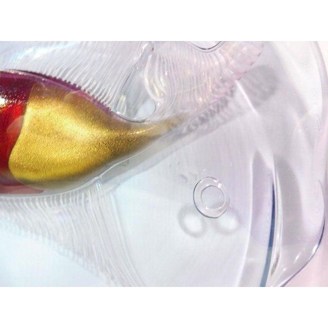 1950s 1950s Italian Cenedese Alfredo Barbini Aquarium Fish Bowl For Sale - Image 5 of 6