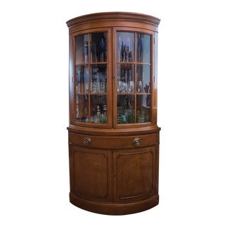 Traditional Corner China Cabinet For Sale