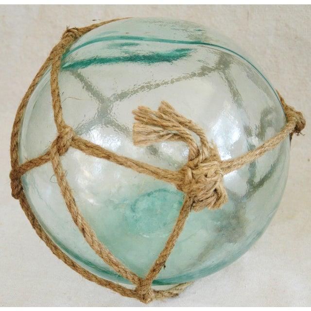 Jumbo Hand-Blown Glass Fishing Floats - Set of 3 - Image 5 of 5