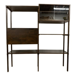 Mid Century Modern Wall Unit by Noral Olson for Kovenhavn For Sale