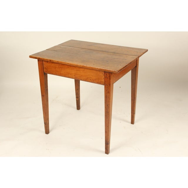 Early 19th Century 19th Century Neoclassical Fruit Wood Occasional Table For Sale - Image 5 of 12