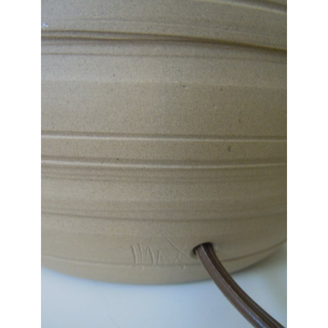 Martz Incised Table Lamp for Marshall Studios - Image 3 of 6