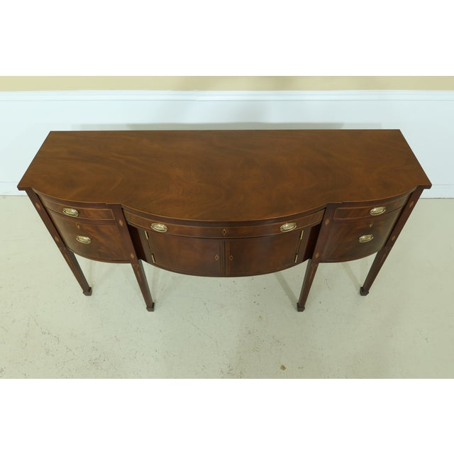 Kindel National Trust Collection Federal Mahogany Sideboard For Sale In Philadelphia - Image 6 of 13