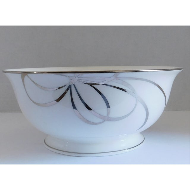 Kate Spade Belle Boulevard/Lenox White Porcelain Bowl For Sale - Image 10 of 10