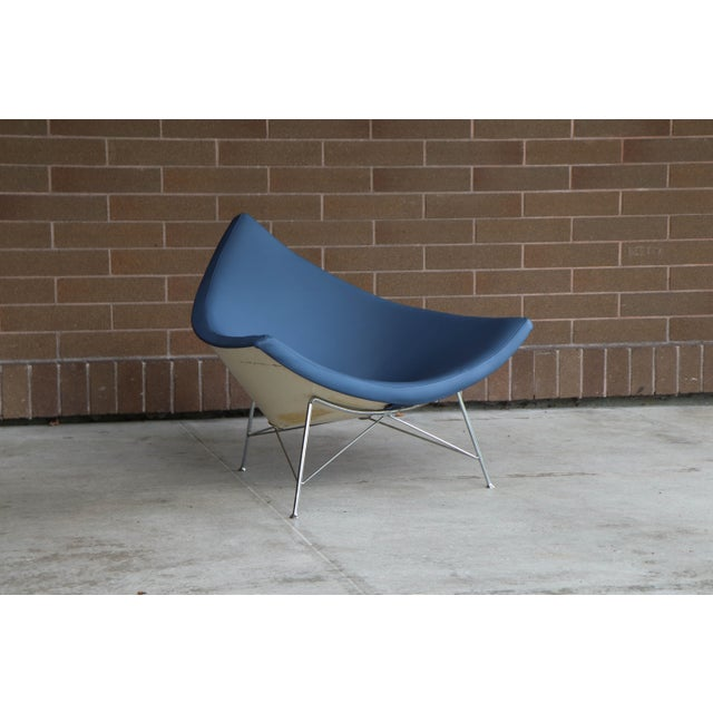 Mid-Century Modern 1950s Vintage George Mulhauser for George Nelson / Herman Miller First Generation Coconut Chair For Sale - Image 3 of 12