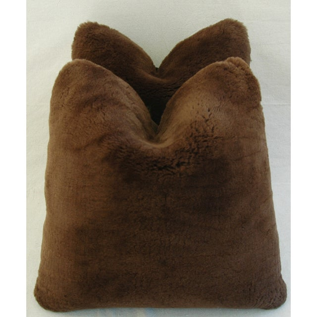 Pierre Frey Plush Lambswool Pillows - A Pair - Image 2 of 7