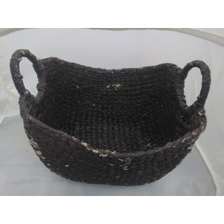 Moroccan Woven Sea-Grass Basket Preview