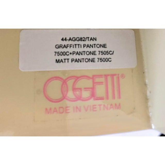 Oggetti Tissue Box and Soap Dish For Sale - Image 9 of 10