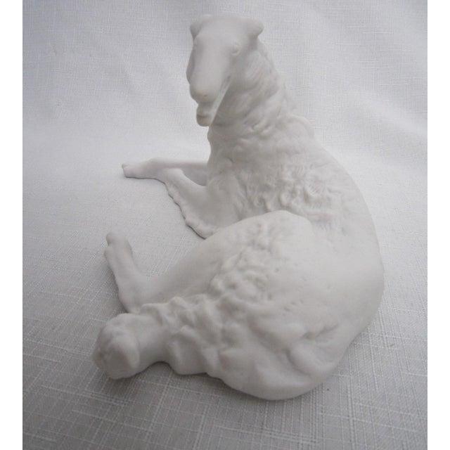 Hollywood Regency Whippet Dog Figurine For Sale - Image 3 of 6