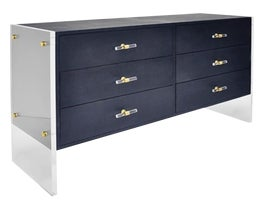 Image of Lucite Dressers and Chests of Drawers