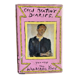 Cecil Beaton's Diaries the Wandering Years First Edition Book For Sale
