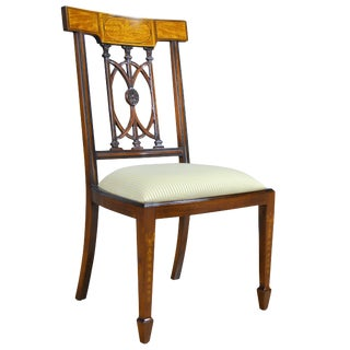Niagara Furniture Inlaid Hepplewhite Side Chair For Sale
