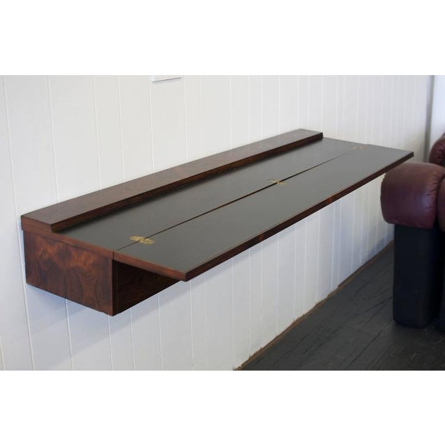 Early 20th Century Flip Top Rosewood Console by Arne Hovmand-Olsen For Sale - Image 5 of 8