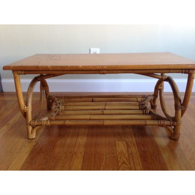 Rattan Coffee Table - Image 2 of 5