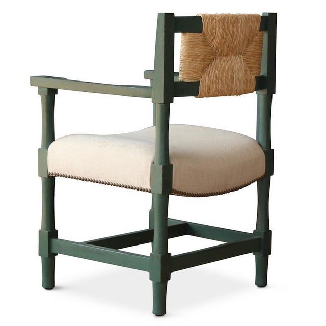 This New York Athletic Club dining armchair is a '40s twist on an Arts & Crafts classic: a re-edition of a chair from the...