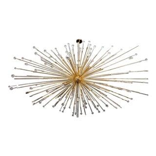 Custom Giant Teardrop Sputnik Chandelier For Sale