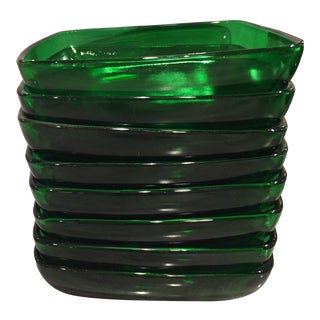Anchor Hocking Green Glassware Bowls - Set of 8